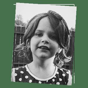 Über mich - Mädchenportrait