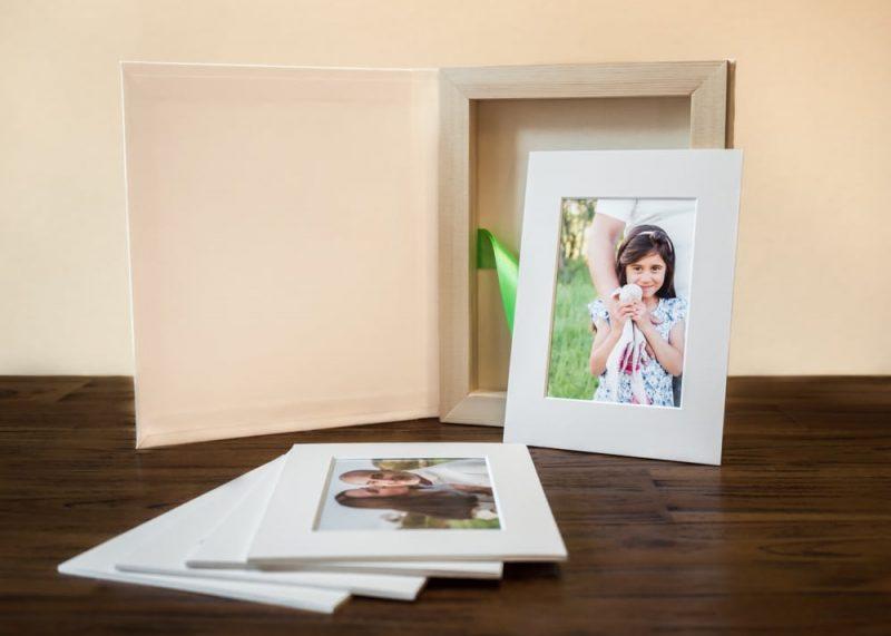 Boutique-Fotobox mit Geschenkbox